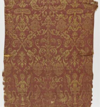 Fragment d'étoffe, Italie, XVIe siècle