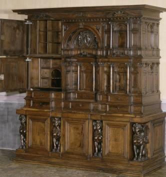 Cabinet Farnèse, Rome, seconde moitié du XVIe siècle