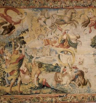 La Chute de Phaéton, Bruxelles, 2e tiers du XVIe siècle