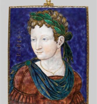 Pâris, Léonard Limosin, vers 1540