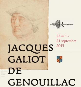 Affiche exposition Jacques galiot de Genouillac