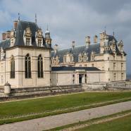 Aile d'entrée château d'Écouen © Mathieu Ferrier