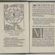 Oronce Finé, De mundi Sphaera sive Cosmographia