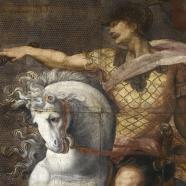 Marcus Curtius, cuirs des héros romains, Amsterdam, quatrième quart du XVIe siècle