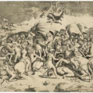 La Bataille du Pont Milvius, d'après Raphaël