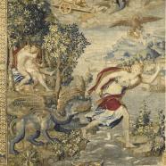 Tenture de Diane de Poitiers, Jupiter et Latone, milieu du 16e siècle