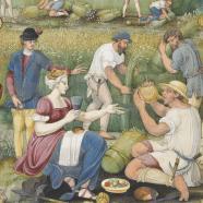 Le mois d'août, livre d'heures de Claude Gouffier, France, vers 1545