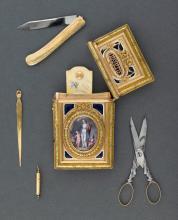 Nécessaire de poche, XVIIIe siècle