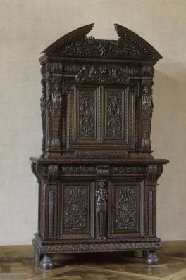 Armoire de Clairvaux, Bourgogne, quatrième quart du XVIe siècle