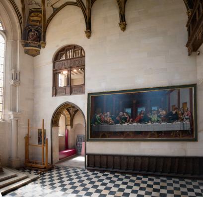 La Cène, chapelle du château d'Ecouen