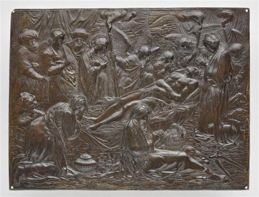 La Déploration du Christ, Zacharias Lencker