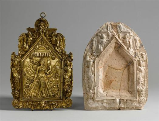 Deux miroirs, 1560-1570