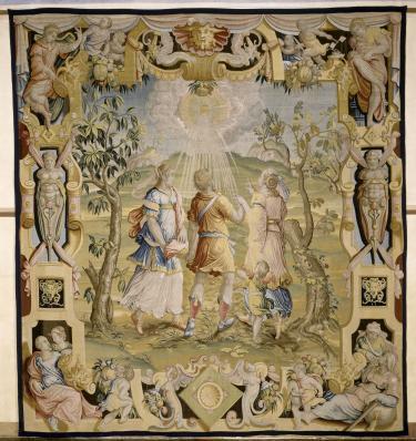 Tenture de L'Age viril de l'homme, Benedetto Squilli (d'après Jan van der Straet), Florence, vers 1564